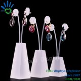 Wholesale White Frosted Acrylic Earring Display