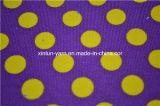 Tessuto bianco del sofà del sacchetto della tela di canapa del cotone della poltrona del sacchetto dei puntini
