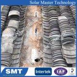 Supporti di attacco di alluminio d'acciaio galvanizzati installazione facile del comitato solare di stile del tetto