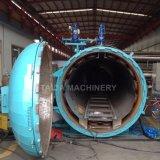 A Siemens PLC Mangueiras de borracha do radiador Automotivo Vulcanização Autoclave de Vapor