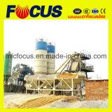 planta de procesamiento por lotes por lotes concreta inmóvil 50m3/H con la tolva del salto