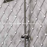 1.2mm /1.6mm Wire Rope Decorative Mesh Stainless Steel Woven Wire