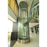 Semi-Circle Vvvf Controlglass Panoramic Elevator
