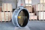 Al-brons C95400 de Van een flens voorzien Vleugelklep van de Schijf C95800 Dubbel (CBF02-TF01)