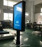 Neue Touch Screen LCD-Bildschirmanzeige der Ankunfts-55inch im Freien