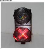 200mmの車道の私道の赤十字の緑の矢停止はライト行き、