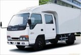 Hete Isuzu 100p Double Row Van Truck