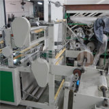 Zwei Lines Plastic Bag Making Machine mit EPC