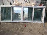 Großes UPVC schiebendes Fenster mit 4 schiebenden Scheiben