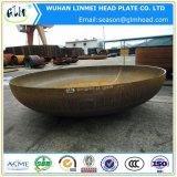 炭素鋼ボイラーのための皿に盛られたディスク楕円形ヘッド