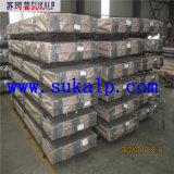 Especificación acanalada galvanizada del acero de hoja