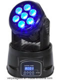 7X10W RGBW 4 in 1 LED Moving Head Wash Lighting