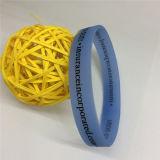 De enige RubberArmbanden van het Silicone van de Kleurendruk In het groot