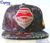 El logotipo metálico tapa Snapback Hat Hat Style