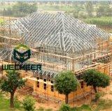 지붕과 벽의 가벼운 강철 구조물 건축재료 집 강철 프레임