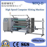 High Speed comandato da calcolatore Slitting Rewinding Machine per Plastic Film