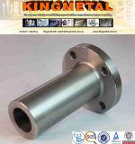 "ASTM A182 3/4の""クラス2500のF55デュプレックスステンレス製の長い溶接された首のフランジ"