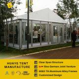Huaye deutscher Standard 6X6m ein Feld-Glaszelt für Verkauf (hy235b)