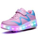 Luminoso LED de la moda los zapatos para niños