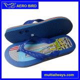 Fracasos de tirón azules del deslizador del recorrido del PVC del estilo popular para los hombres