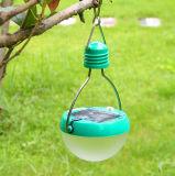 Portable 7LED Camping Solar solar de la luz de lámpara colgante de emergencia