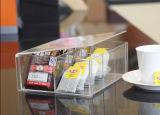 De aangepaste AcrylDoos van de Doos van de Verpakking van de Doos van de Thee Mooie en Praktische Transparante Acryl,