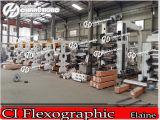 Vitesse flexographique de couleurs de la machine d'impression de tambour central 6 (marque de Changhong)