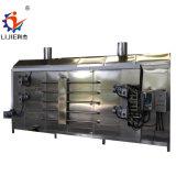 O SUS Continute 304 vegetais e frutos de malha multicamada tipo correia máquina de secagem de ar quente
