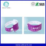 Wegwerfpapier-RFID Armband pont-