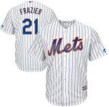 人の女性の子供ニューヨークMets 21のタッドFraziercool基礎プレーヤーの野球のジャージ