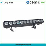 IP20 haute puissance 12pcs 25W à LED DMX Rgbaw wall lamp