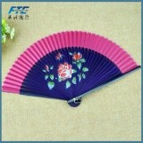 Ventilatori di bambù della mano del tessuto del ventilatore della mano dei ventilatori pieghevoli cinesi dell'OEM