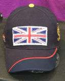 chapéu da cópia 6panel e do tampão do esporte do basebol de Enbroidery