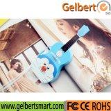 Batería móvil externa vendedora caliente de la potencia del cargador de la guitarra linda del adminículo
