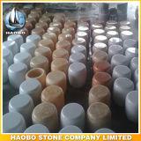 Urnes de marbre en pierre normales d'incinération