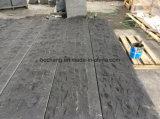 Lastricatore grigio scuro naturale del granito di spaccatura G654 per pavimentare