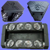 indicatore luminoso capo mobile del ragno del fascio LED della fase 8X10W