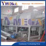 Alta automática continua eficiente carbonizar horno para residuos Agricutural