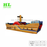 바운스 활주를 가진 상업적인 PVC 팽창식 해적 배