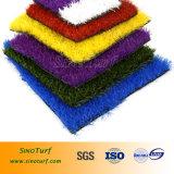 Gramado artificial com resistência elevada de U/V para a decoração, jardim, ajardinando
