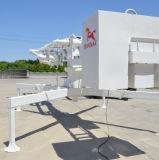 Le matériel de construction en plaçant le rayon de 13m de la machine en béton (PB 13A)