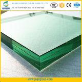 Производитель стекла 15мм+1.52PVB+15мм многослойное закаленное стекло