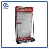 Изготовленный на заказ стеллаж для выставки товаров вспомогательного оборудования металла Pegboard крюка магазина розничной торговли