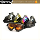 Black Gray Hunting Airsoft X400 Proteção Tactical Moto Glasses