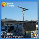 Ao ar livre claro psto solar da rua solar completa da lâmpada do diodo emissor de luz