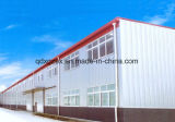 La fábrica de la estructura de acero, rápida ensambla el taller, taller que enmarca de acero (SSW-217)