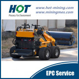 Mini Wide Used  Customized Construction Minining Small Wheel  Loader Skid Steer Mini Loader