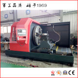 Populäre Drehbank-Maschine für das Drehen des 2500 mm-Durchmesser Flansches (CK61250)