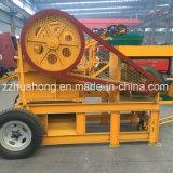 Broyeur de maxillaire mobile de moteur diesel Pef150*250