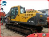 2007 / 20ton Backhoe / 1.0cbm Global-Shipping Aftercooled-Diesel-Engine Excavatrice hydraulique Caterpillar Crabeur Ec210b d'occasion